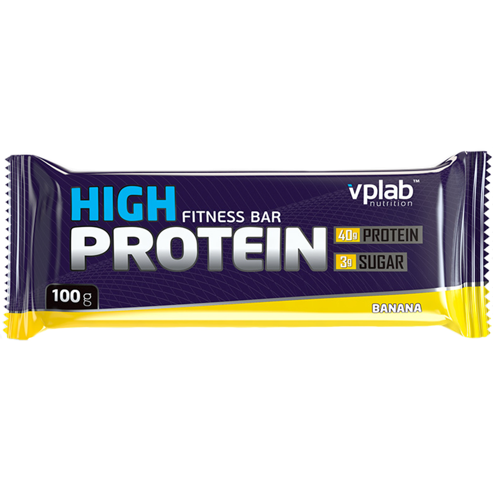 Батончик VPlab 40% High Protein 100 g Банан