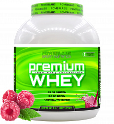 PowerLabs Premium Whey 2000 g Малина