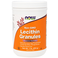 NOW Lecithin Granules 1 lb