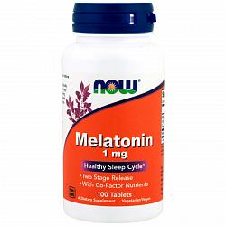 NOW Melatonin 1 mg 100 tabs