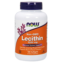 NOW Lecithin 1200 mg 100 softgel