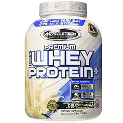 MuscleTech 100% Whey Plus 5 lb Ваниль