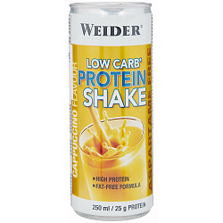 Weider Low carb Protein Shake 250 ml Капучино