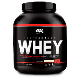 Optimum Nutrition Performance Whey 4,3 lb 1950 g Ванильный коктейль