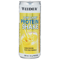 Weider Low carb Protein Shake 250 ml Ваниль