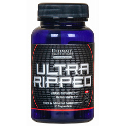 Ultimate Nutrition Ultra Ripped EF 2 caps