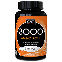 QNT 3000 High Amino Acids Content 100 tabs