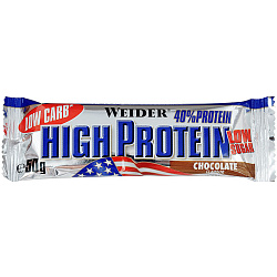Weider 40% Low Carb High Protein bar 50 g Шоколад